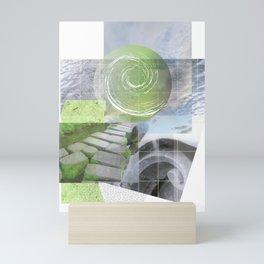 garden steps Mini Art Print