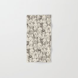 just alpacas natural Hand & Bath Towel