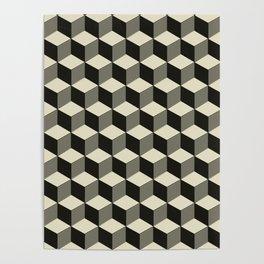 Metatron Cubes pattern 02 Poster
