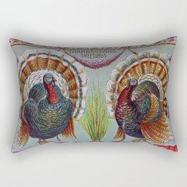 Thanksgiving Greetings 1906 Rectangular Pillow