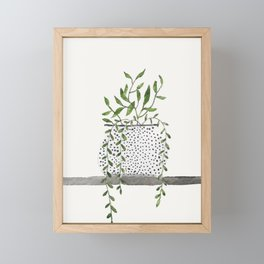 Vase 2 Framed Mini Art Print