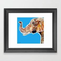 Elephan 2 Framed Art Print
