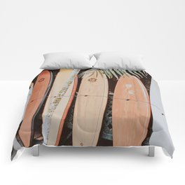 lets surf ii Comforters