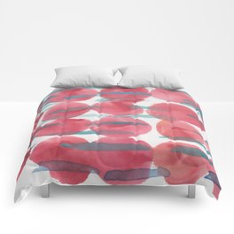 31    | 190408 Red Abstract Watercolour Comforters