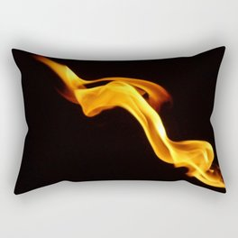 Playing with fire Rectangular Pillow