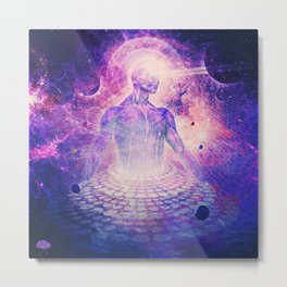 Architect of Aether Metal Print