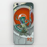 Astro Zodiac Force 06: Snake iPhone & iPod Skin