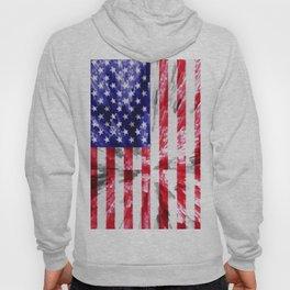 American Flag Extrude Hoody