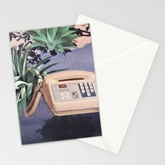 Late Nite Phone Talks Stationery Cards