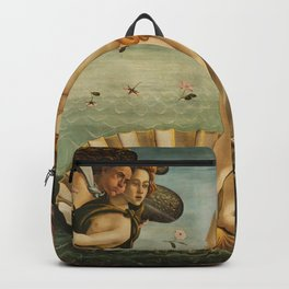The Birth of Venus - Nascita di Venere by Sandro Botticelli Backpack