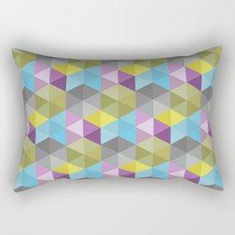 Tangrams Pattern Rectangular Pillow