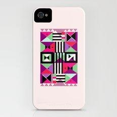 Violet Triangulation iPhone (4, 4s) Slim Case