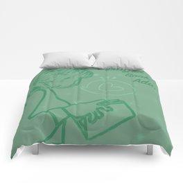 Certified Book Addict Comforters
