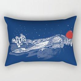 Olympic Swimmer  Rectangular Pillow