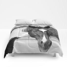 Decco in Black & White Comforters