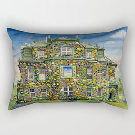 The Flowerhouse Rectangular Pillow