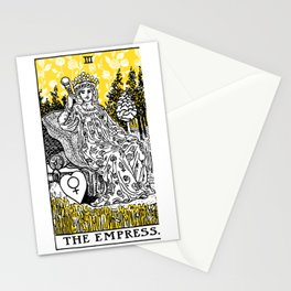 A Floral Tarot Print - The Empress Stationery Cards
