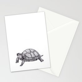 Turtle Pattern Stationery Cards