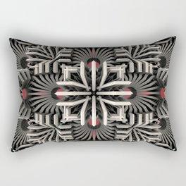 Calaabachti Matrix Rectangular Pillow