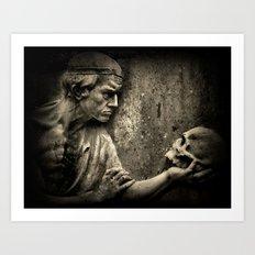The Doctors Grave Art Print