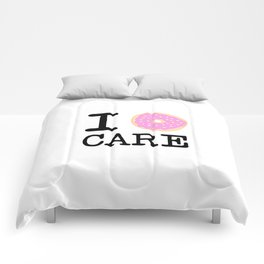 I doughnut care Comforters