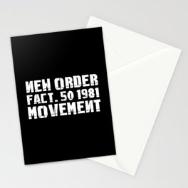 NEW ORDER - MOVEMENT Stationery Cards