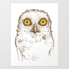 Who Are You? Art Print