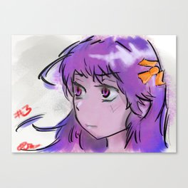 Corpsey Girl Canvas Print