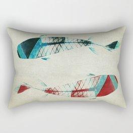 反対派 (opponents) Rectangular Pillow