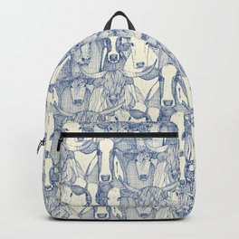 just cattle classic blue pearl Backpack