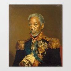 Morgan Freeman - replaceface Canvas Print