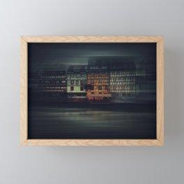 Night Strasbourg Framed Mini Art Print