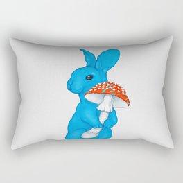 Amanita Rabbit Rectangular Pillow
