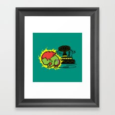 Part Time Job - Electric Supply Framed Art Print