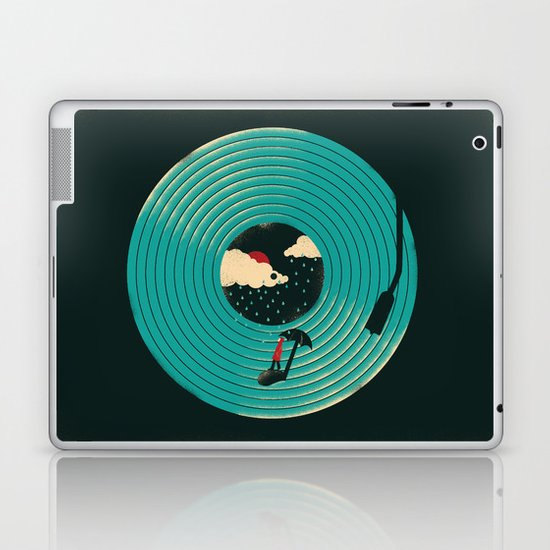 Songs for a Rainy Day Laptop & iPad Skin