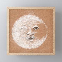 Mister Moon Framed Mini Art Print