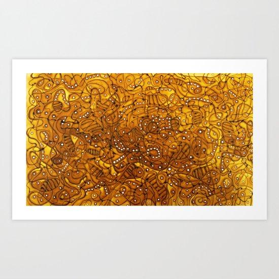 Asuk Art Print