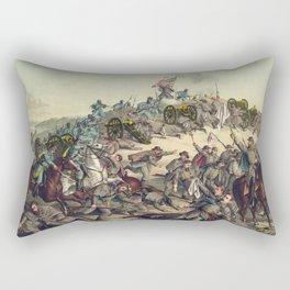 Civil War Battle of Nashville December 15-16 1864 Rectangular Pillow