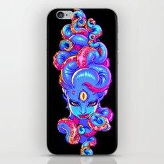 Tentacle Demoness (BLUE version) iPhone & iPod Skin