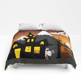 Halloween Scene Comforters