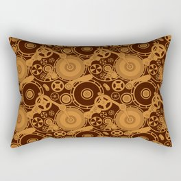 Clockwork 1 Rectangular Pillow