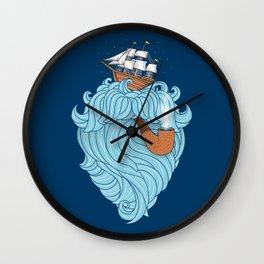 Skilled Sailor Wall Clock