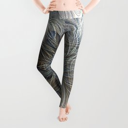 Deep and Chilled Fractoria Leggings
