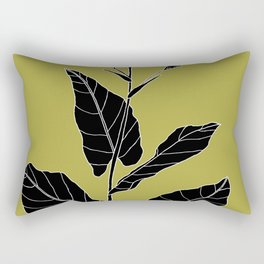 Rock Pituri (Also known as Bone Marrow Tobacco) - Nicotiana gossei Rectangular Pillow