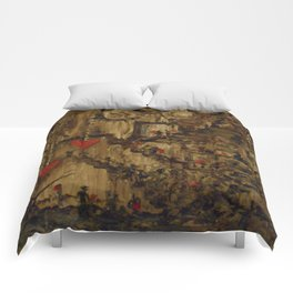 Steampunk Manufactured Love Comforters