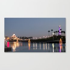 ~ Rainbow Harbor ~ Canvas Print