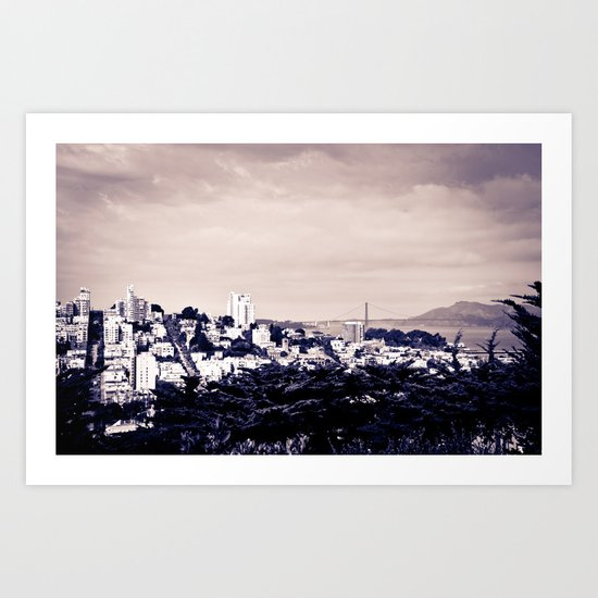 From Coit Tower Art Print