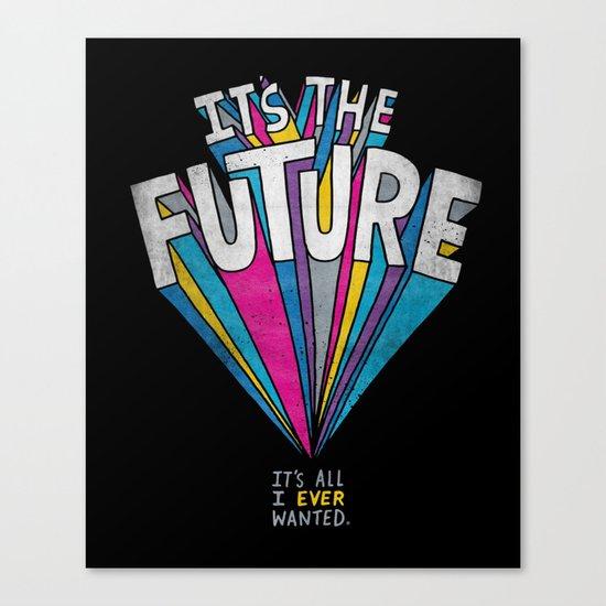 The Future Canvas Print