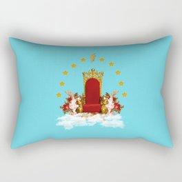 The throne Rectangular Pillow