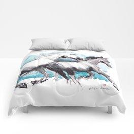 Horses (Mom&kid) Comforters